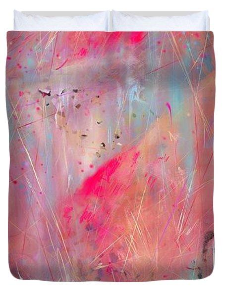 Blood Of The Lamb Duvet Cover by Rachel Christine Nowicki