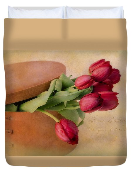 Blooming Outside The Box Duvet Cover