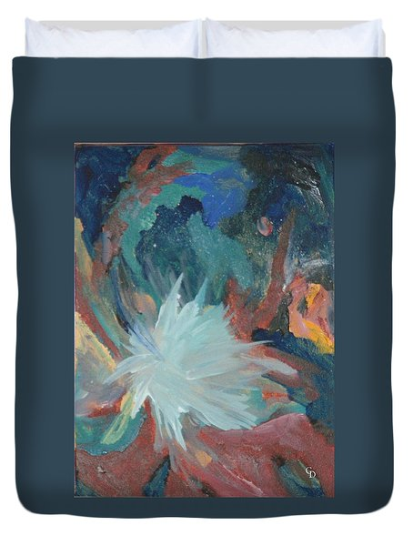 Blooming Star Duvet Cover