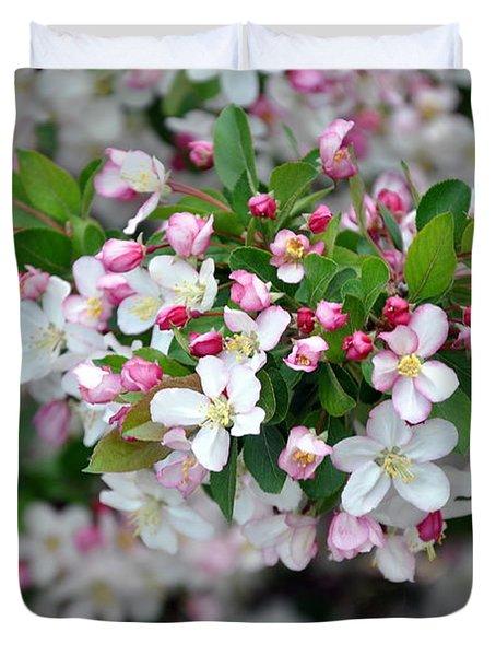 Blossoms On Blossoms Duvet Cover