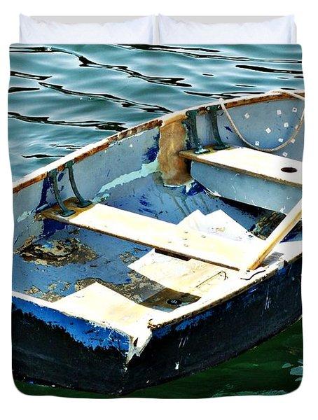 Blue Dory Duvet Cover by Joe Faherty