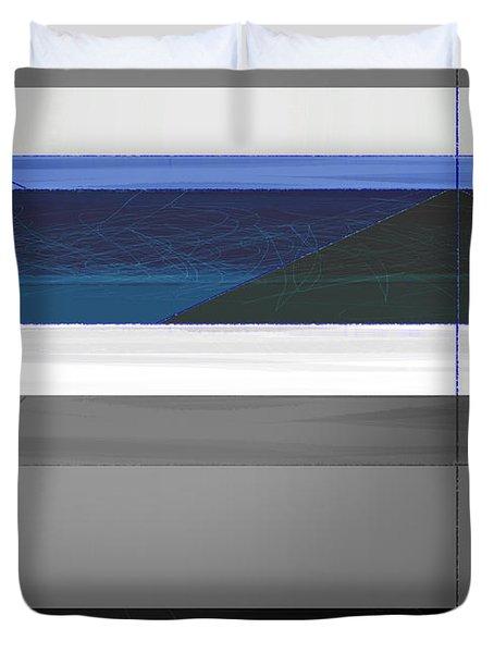 Blue Flag Duvet Cover
