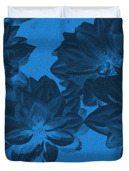 Blue Flower Art Duvet Cover by Aimee L Maher Photography and Art Visit ALMGallerydotcom
