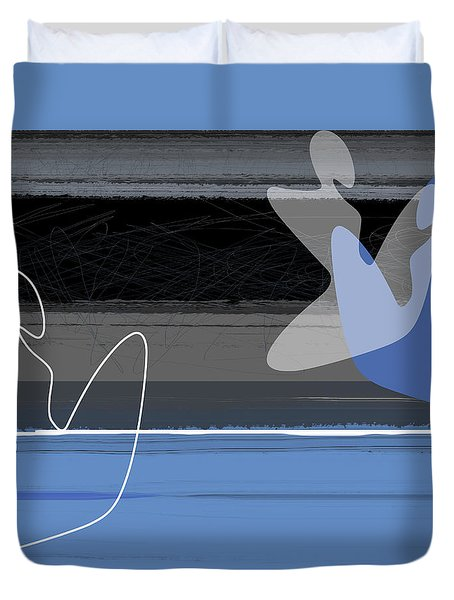 Blue Girls Duvet Cover