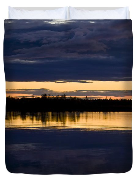 Blue Hour Duvet Cover by Heiko Koehrer-Wagner