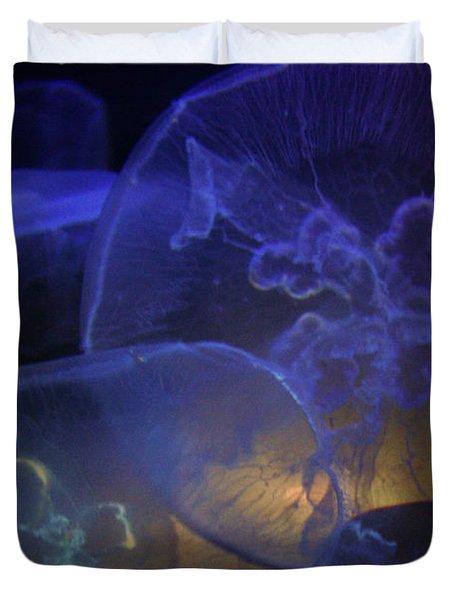 Blue Jelly Dream Duvet Cover