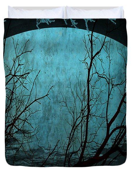 Blue Lagoon  Duvet Cover by Jerry Cordeiro