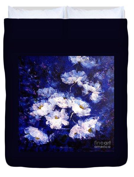 Blue Mood Duvet Cover by Madeleine Holzberg
