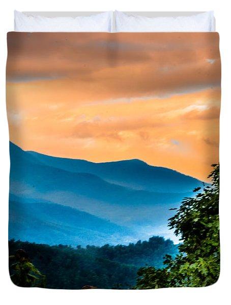 Blue Ridge Duvet Cover