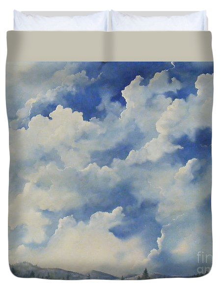 Blue Ridge Vista...sold  Duvet Cover