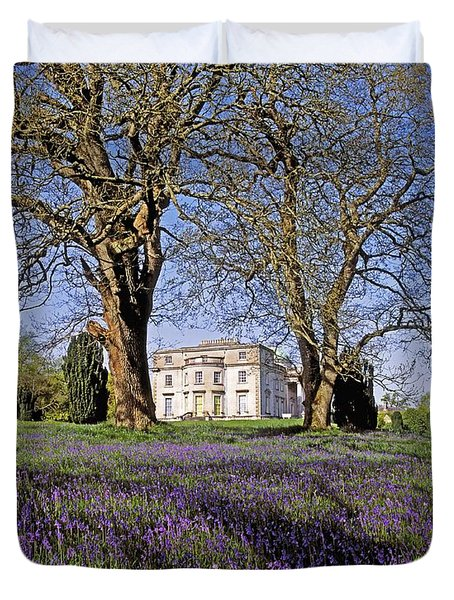 Bluebells In The Pleasure Grounds, Emo Duvet Cover by The Irish Image Collection