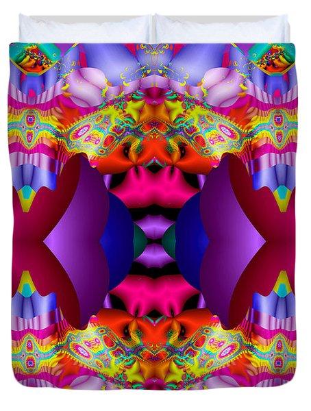 Blueberry Ice Duvet Cover by Robert Orinski