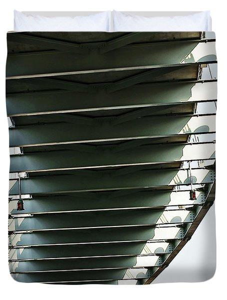 Bob Kerrey Pedestrian Bridge Duvet Cover