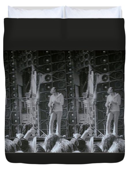 Bob Weir Grateful Dead 74 Dsm Ia Duvet Cover