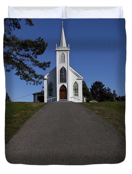 Bodega Church Duvet Cover
