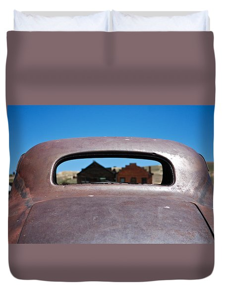 Bodie Ghost Town I - Old West Duvet Cover