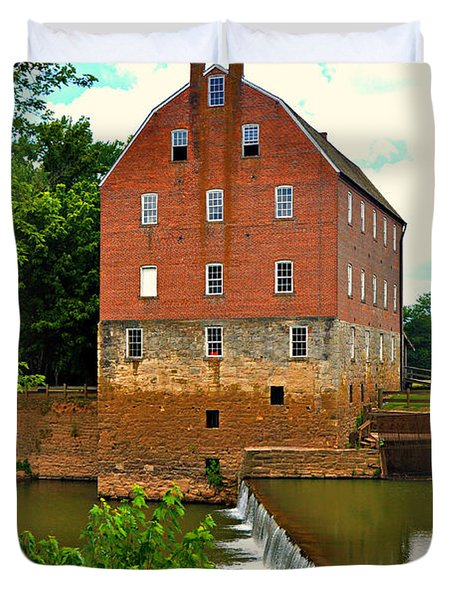 Bollinger Mill Duvet Cover by Marty Koch