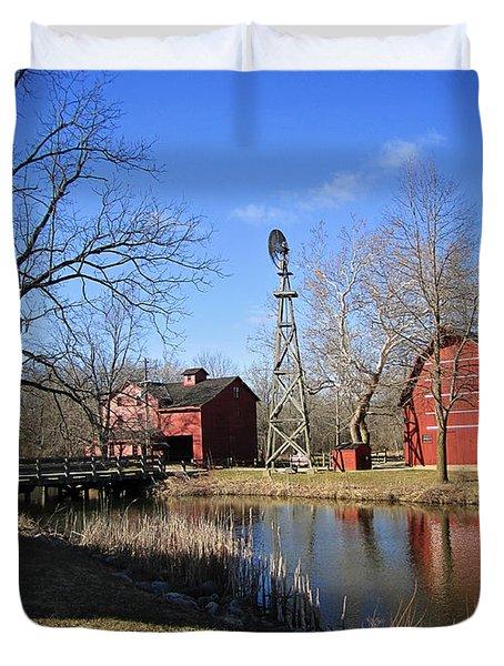 Bonneyville Mill Duvet Cover