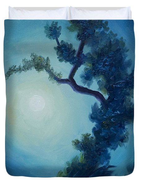 Bonsai I Duvet Cover by James Christopher Hill