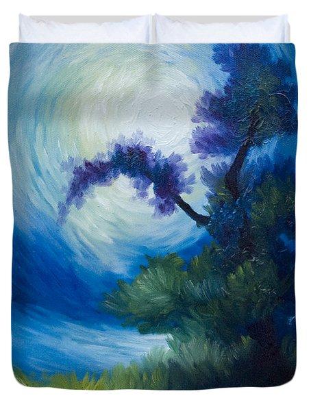 Bonzai II Duvet Cover by James Christopher Hill