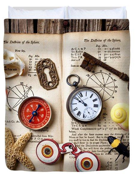 Book Of Mystery Duvet Cover