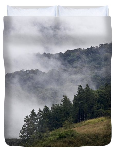 Boquete Highlands Duvet Cover by Heiko Koehrer-Wagner