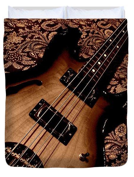 Botanical Bass Duvet Cover by Chris Berry