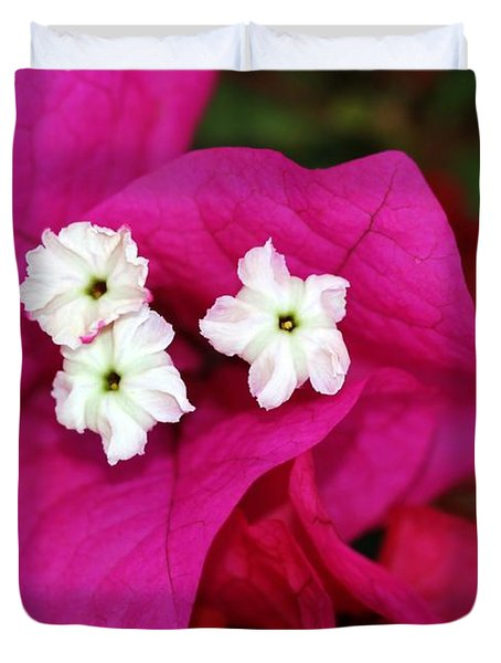 Bouganvillea Duvet Cover by Sabrina L Ryan