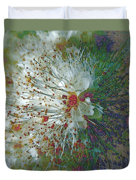 Bouquet Of Snowflakes Duvet Cover