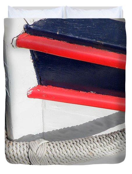 Braided Bumper Duvet Cover by Lainie Wrightson