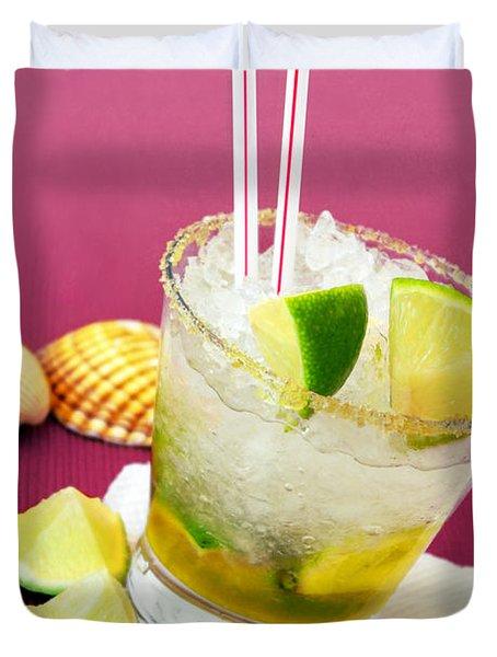 Brazilian Cocktail Duvet Cover by Carlos Caetano