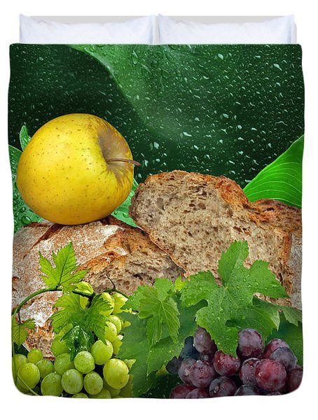 Bread Duvet Cover by Manfred Lutzius
