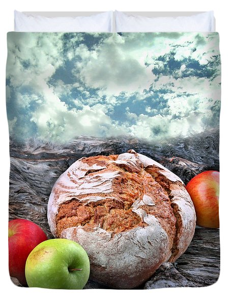 Bread Of The World Duvet Cover by Manfred Lutzius