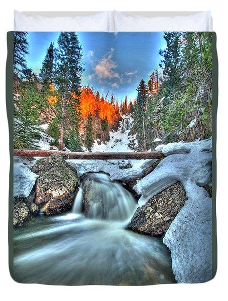 Break On Through Duvet Cover by Scott Mahon