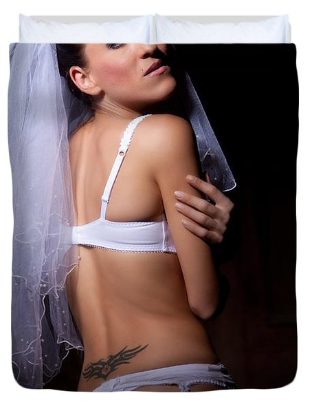 Bride Duvet Cover by Ralf Kaiser