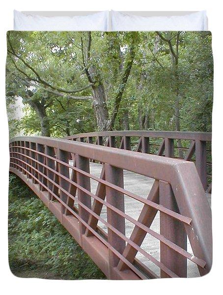 Bridge To Beyond Duvet Cover