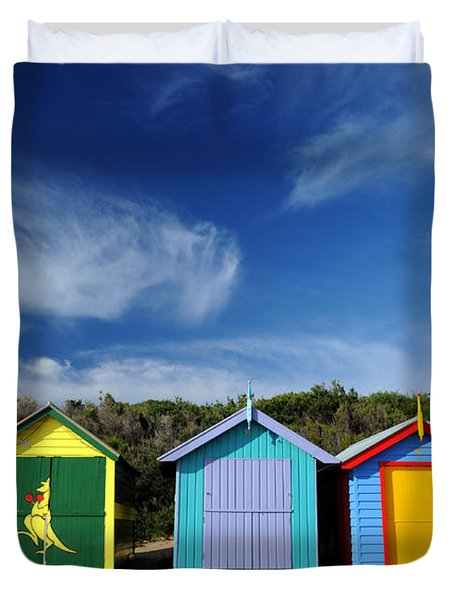 Brighton Beach Duvet Cover by Yew Kwang