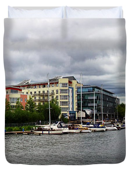 Bristol Panoramic Photograph Duvet Cover