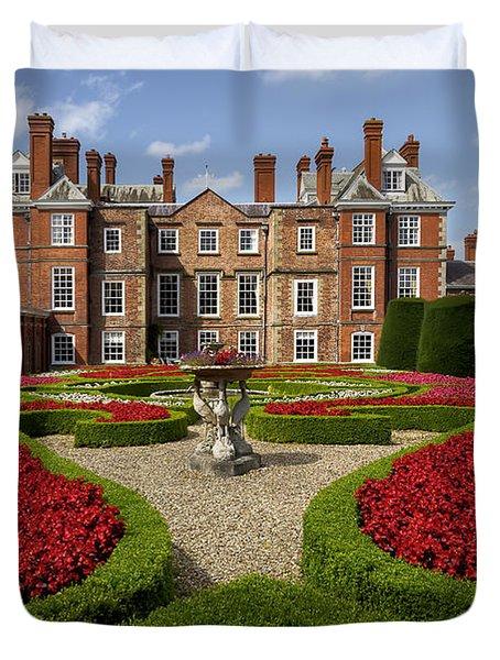 British Garden  Duvet Cover by Adrian Evans