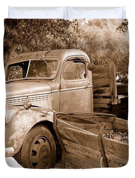Broken  Duvet Cover by Holly Blunkall