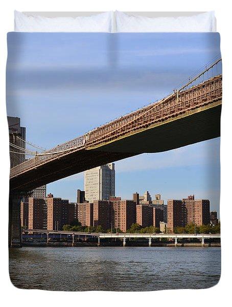 Brooklyn Bridge1 Duvet Cover