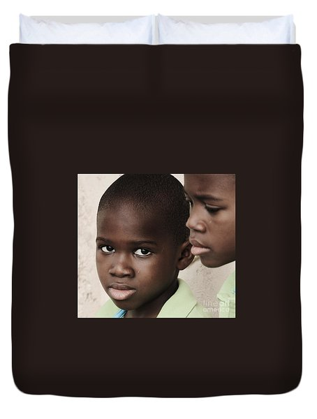 Brothers Duvet Cover by Rene Triay Photography