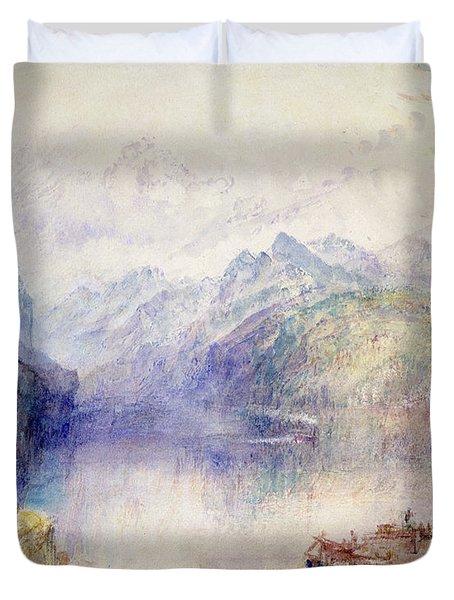 Brunnen  Duvet Cover by Joseph Mallord William Turner