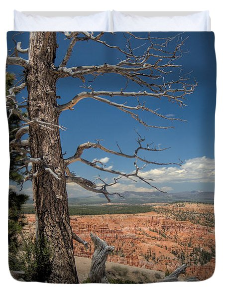 Bryce Canyon - Dead Tree Duvet Cover