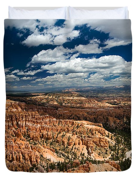Bryce Canyon Ampitheater Duvet Cover