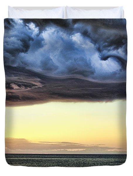 Bubble Cloud V2 Duvet Cover by Douglas Barnard