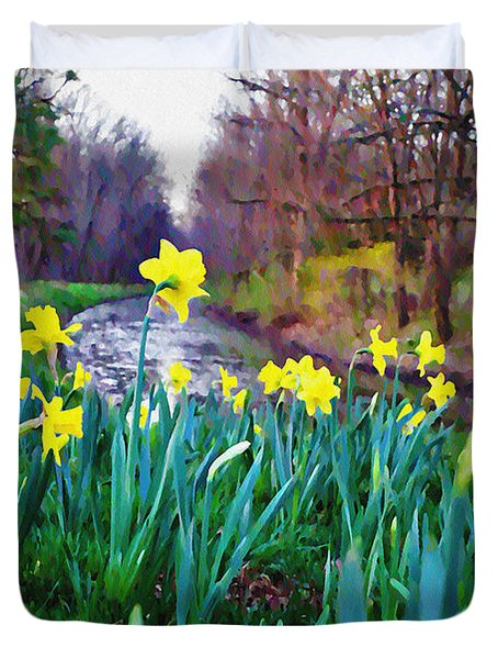 Bucks County Spring Duvet Cover by Bill Cannon