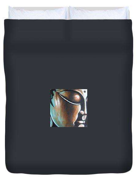 Buddha Duvet Cover by Usha Rai
