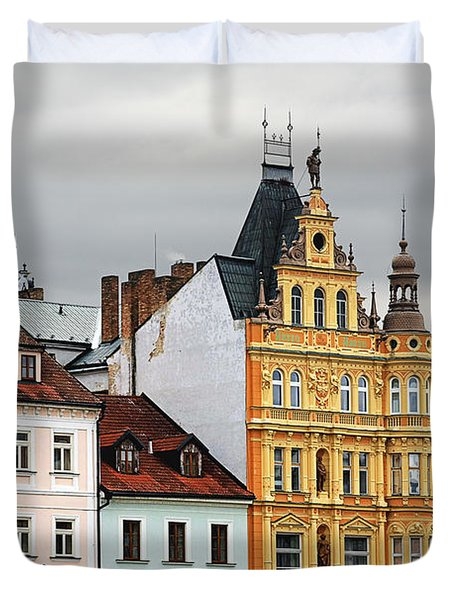 Budweis - Pearl Of Bohemia - Czech Republic Duvet Cover by Christine Till