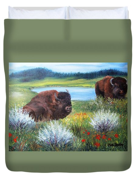 Buffalo Repose  Duvet Cover